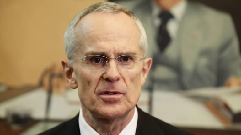 ACCC chairman Rod Sims was not consulted on a radical divestment proposal and learned of it by reading the newspaper.