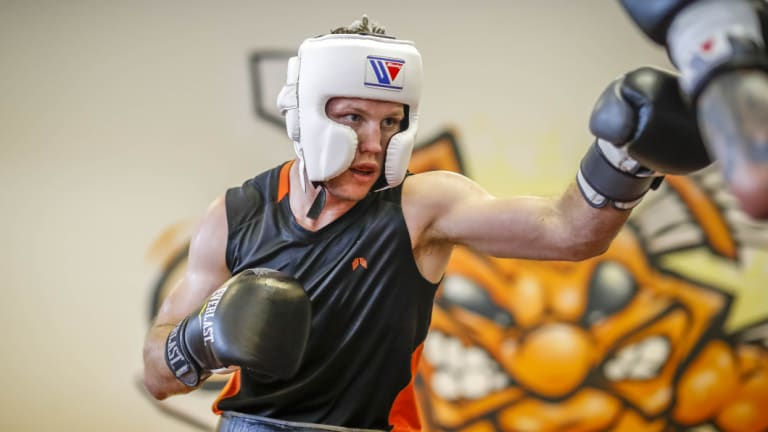 Ready to go: Jeff Horn is hunting for respect.