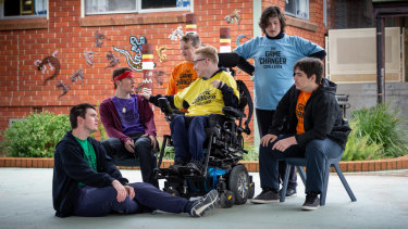 A team of students from Carenne School in Bathurst won the inaugural Game Changer Challenge with a plan to address anxiety and stress.