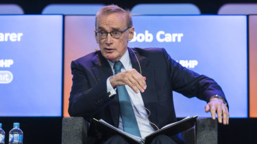 Bob Carr, director of the Australia-China Relations Institute.