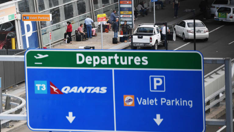 Sydney Airport said it cashed in on growing international passenger numbers.