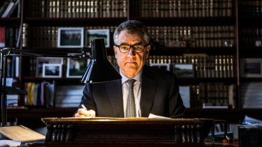 Justice Chris Maxwell, president of the Court of Appeal.
