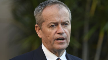 Bill Shorten has not ruled out extending industry bargaining rights across the economy.