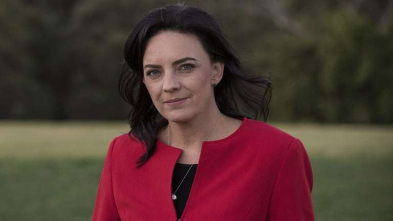 Emma Husar on Wednesday after announcing she would not recontest the next election.
