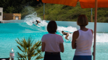 The group behind the surf park project say it will lead to about 50 full-time jobs once it is operating.