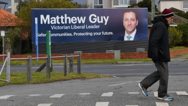 Mordialloc - where this Liberal billboard went up last year - will be one of the key seats in November's election.