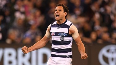 Geelong's compensation for losing Steven Motlop was controversial.