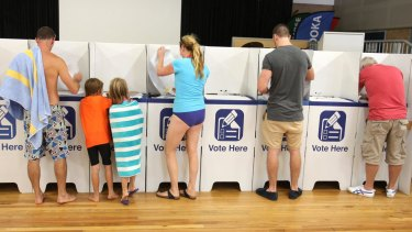 Two electorates in south-east Queensland will be trialling drive-through polling booths.