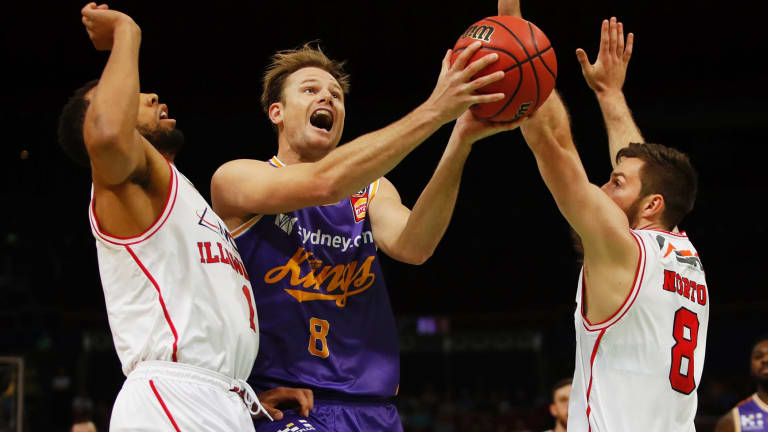 Brad Newley returns to the national side.
