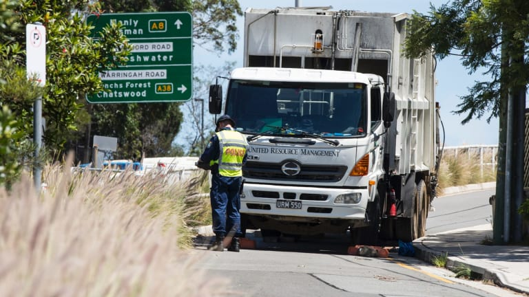 A 58-year-old woman was killed after she was hit by a garbage truck in Dee Why on Thursday, February 8.