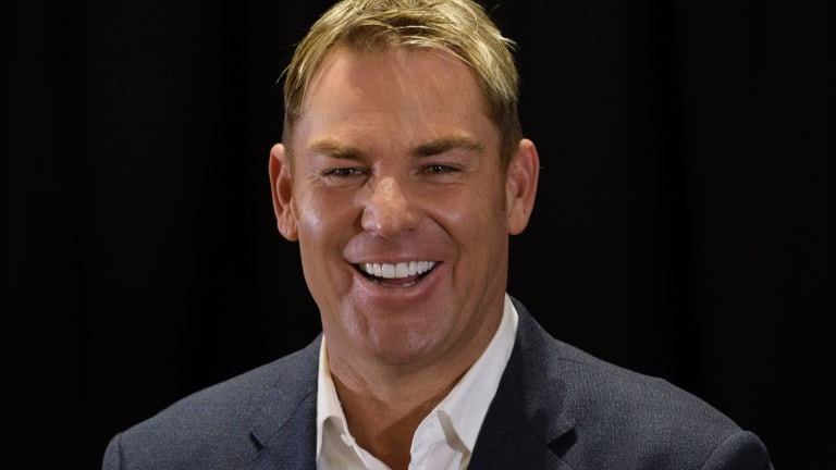 Shane Warne received an honorary doctorate from Southampton Solent University.