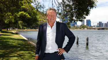 Andrew 'Twiggy' Forrest is the chairman and biggest shareholder of iron ore giant Fortescue.