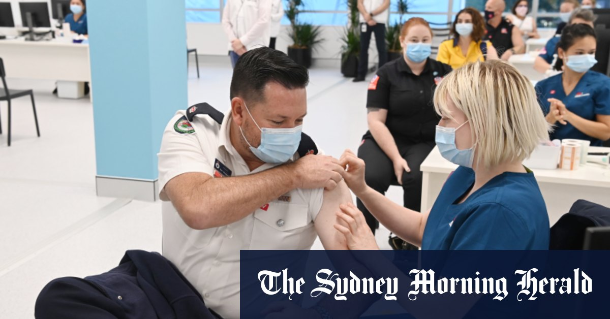'I haven't seen anything like it': Inside Sydney's mass vaccination hub – Sydney Morning Herald