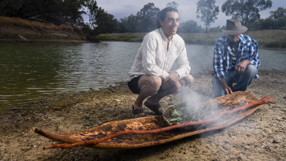 A traditional canoe as delicate as a feather takes culture into the future