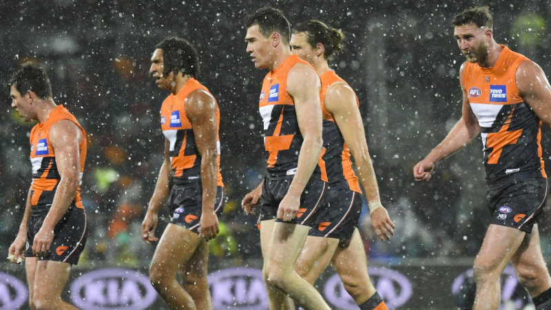 Giants lick their wounds after Hawthorn show them up again