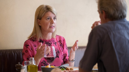 Lunch with Natasha Stott Despoja: Pushing to end domestic violence