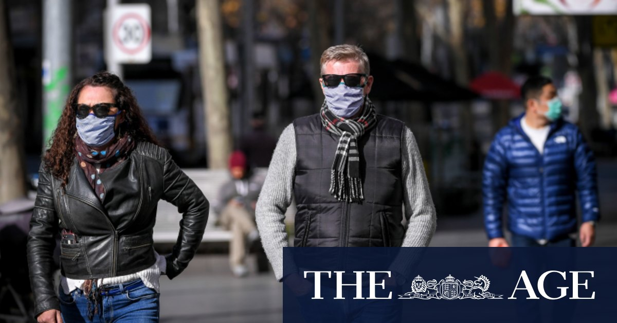 Traffic light mask restrictions proposed once stage four lockdown ends – The Age