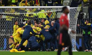 Villarreal beat United in epic shootout to win Europa League final