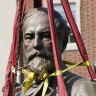 Robert E. Lee statue removed from ex-capital of Confederacy