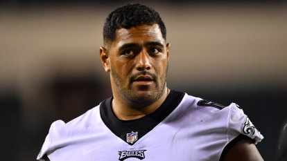 How Jordan Mailata is winning over fans in the home of Rocky