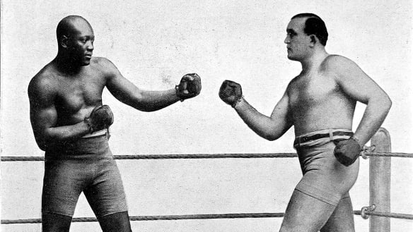 Jack Johnson, boxer jailed under Jim Crow, is being considered by Trump for pardon
