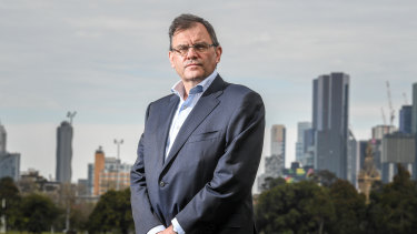 """University of Melbourne vice-chancellor Duncan Maskell: """"If that decision stops people dying now from the virus, what are the economic consequences of that for people and how will that play out in terms of future mortality?''"""