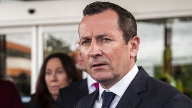 Premier Mark McGowan said he has received death threats after an MUA protest this morning.