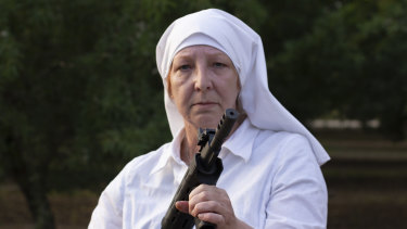 Sister Kate from the documentary Breaking Habits.