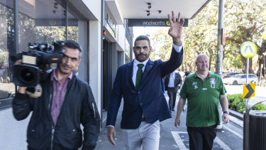 Remorseful: Greg Inglis said he knows there are standards in the game to uphold.