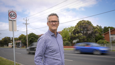 City of Greater Geelong chief exective Martin Cutter is leading a push to reduce speed limits.
