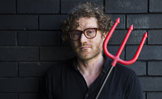 John Safran hunts down stories of the occult in his Audible podcast John Safran vs The Occult.