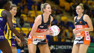 Former Diamonds skipper Caitlin Bassett is without a Super Netball club for 2022.