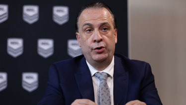 Racing NSW boss Peter V'landys.