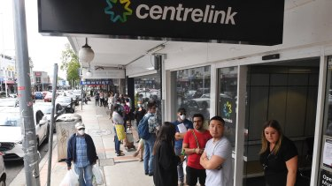 Australia didn't need to wait for data to know a recession was on the way, long lines at Centrelink told the story.