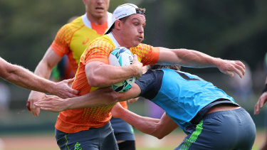 Michael Hooper seems a near certainty to start for the Wallabies in their World Cup opener against Fiji.