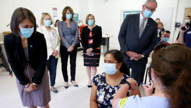 Frontline health and emergency workers were among the first people in NSW to get their COVID-19 vaccinations. The second phase of the vaccination rollout is now beginning.