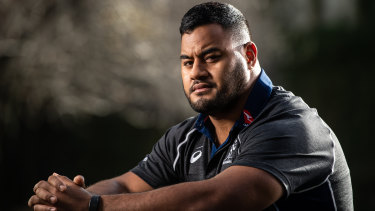 Taniela Tupou has re-signed with Rugby Australia through to the end of 2023.