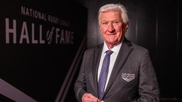 Channel Nine commentator Ray Warren.