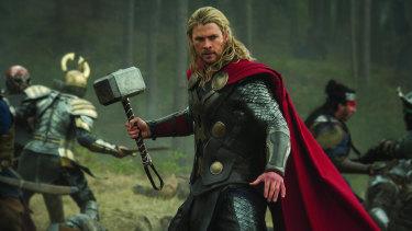 Chris Hemsworth in Thor: Love and Thunder.