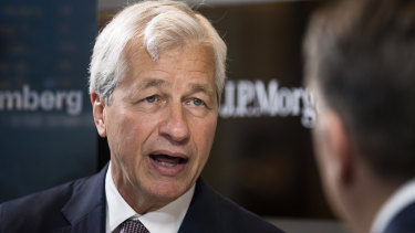 JPMorgan chief executive officer Jamie Dimon says government stimulus is key to fuelling a recovery.