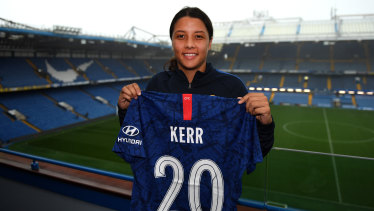 Sam Kerr recently signed a lucrative deal with Chelsea's women's team.