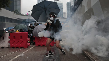 Mostly young, black-shirted protesters have taken on Hong Kong's government, and by extension Beijing.