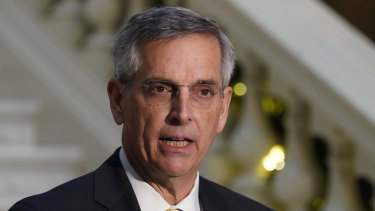 Georgia Secretary of State Brad Raffensperger rebuffed Donald Trump's bid for him to overturn his state's election results.
