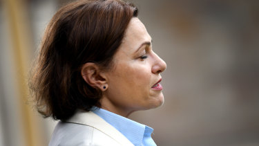 Jackie Trad  has stood aside from her ministerial duties.