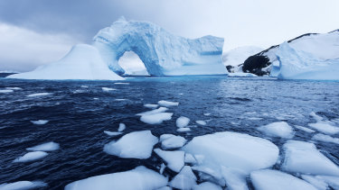 The Southern Ocean.