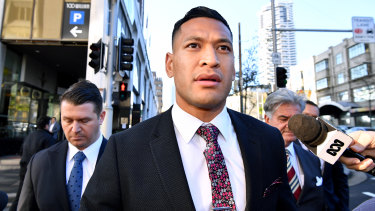 Ex-Wallaby Israel Folau claims Rugby Australia's termination of his playing contract was unlawful.