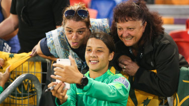 Sam Kerr has two big offers on the table from two big European clubs.