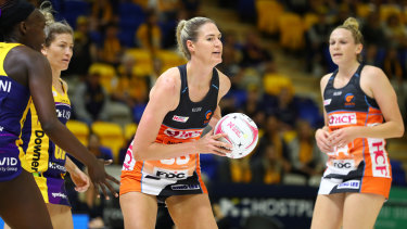Bassett endured a frustrating Super Netball season in 2020.
