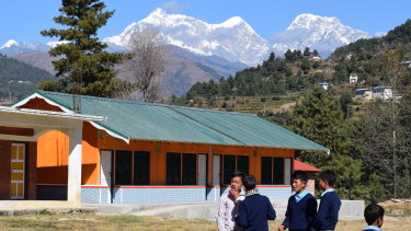 The new community hall at Garma.