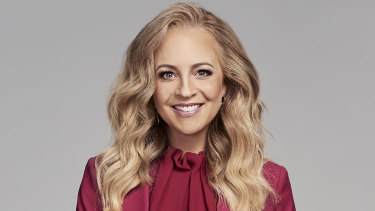 Carrie Bickmore returns to The Project on Monday.